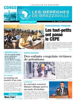 Les Dépêches de Brazzaville : Édition brazzaville du 14 juin 2019