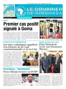 Les Dépêches de Brazzaville : Édition brazzaville du 16 juillet 2019