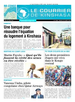 Les Dépêches de Brazzaville : Édition brazzaville du 06 août 2019