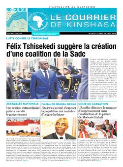 Les Dépêches de Brazzaville : Édition brazzaville du 19 août 2019