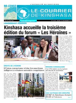 Les Dépêches de Brazzaville : Édition brazzaville du 10 décembre 2019