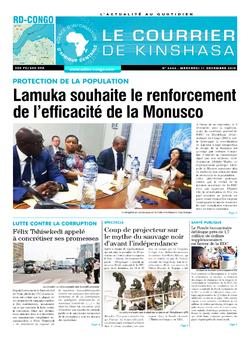 Les Dépêches de Brazzaville : Édition brazzaville du 11 décembre 2019