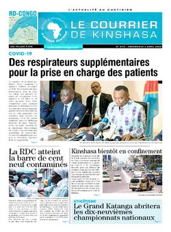 Les Dépêches de Brazzaville : Édition brazzaville du 08 avril 2020