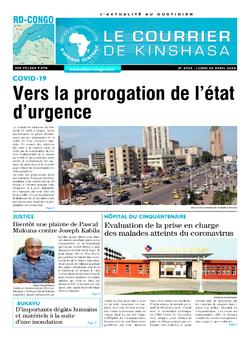 Les Dépêches de Brazzaville : Édition brazzaville du 20 avril 2020
