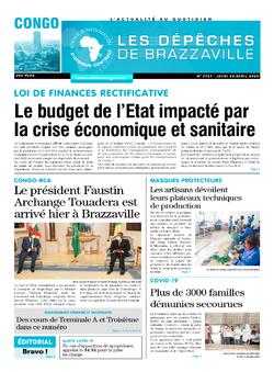 Les Dépêches de Brazzaville : Édition brazzaville du 23 avril 2020