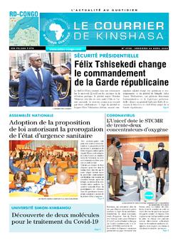 Les Dépêches de Brazzaville : Édition brazzaville du 24 avril 2020