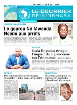 Les Dépêches de Brazzaville : Édition brazzaville du 27 avril 2020