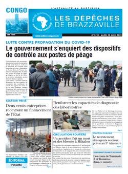 Les Dépêches de Brazzaville : Édition brazzaville du 28 avril 2020