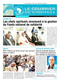 Les Dépêches de Brazzaville : Édition brazzaville du 04 mai 2020