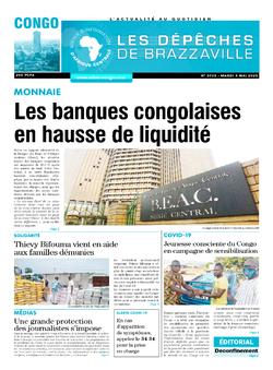 Les Dépêches de Brazzaville : Édition brazzaville du 05 mai 2020