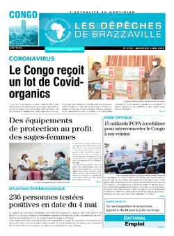 Les Dépêches de Brazzaville : Édition brazzaville du 06 mai 2020