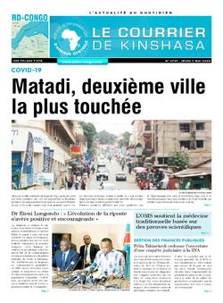 Les Dépêches de Brazzaville : Édition brazzaville du 07 mai 2020