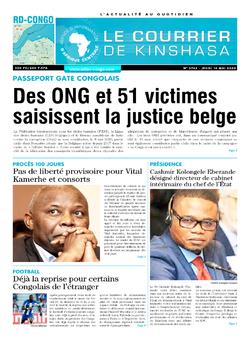 Les Dépêches de Brazzaville : Édition brazzaville du 14 mai 2020