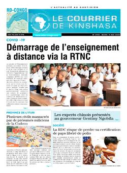 Les Dépêches de Brazzaville : Édition brazzaville du 19 mai 2020