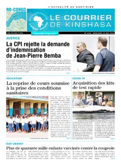Les Dépêches de Brazzaville : Édition brazzaville du 20 mai 2020