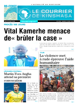 Les Dépêches de Brazzaville : Édition brazzaville du 26 mai 2020