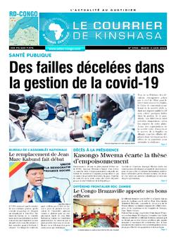 Les Dépêches de Brazzaville : Édition brazzaville du 02 juin 2020