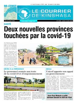 Les Dépêches de Brazzaville : Édition brazzaville du 05 juin 2020