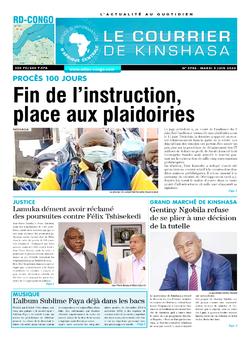 Les Dépêches de Brazzaville : Édition brazzaville du 09 juin 2020