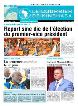 Les Dépêches de Brazzaville : Édition brazzaville du 15 juin 2020