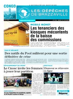 Les Dépêches de Brazzaville : Édition brazzaville du 16 juin 2020