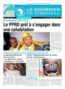 Les Dépêches de Brazzaville : Édition brazzaville du 26 juin 2020