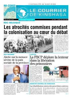 Les Dépêches de Brazzaville : Édition brazzaville du 29 juin 2020