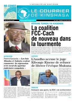 Les Dépêches de Brazzaville : Édition brazzaville du 02 juillet 2020