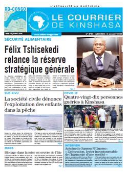Les Dépêches de Brazzaville : Édition brazzaville du 15 juillet 2020