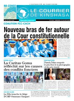 Les Dépêches de Brazzaville : Édition brazzaville du 17 juillet 2020