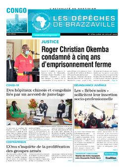 Les Dépêches de Brazzaville : Édition brazzaville du 20 juillet 2020