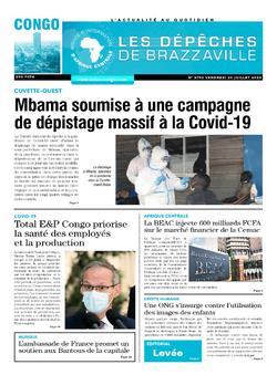 Les Dépêches de Brazzaville : Édition brazzaville du 24 juillet 2020