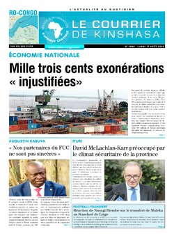 Les Dépêches de Brazzaville : Édition brazzaville du 17 août 2020