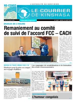 Les Dépêches de Brazzaville : Édition brazzaville du 18 août 2020