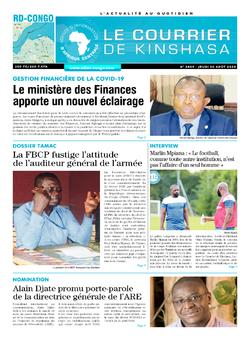 Les Dépêches de Brazzaville : Édition brazzaville du 20 août 2020