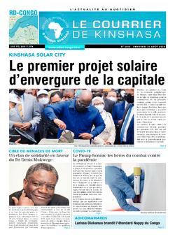 Les Dépêches de Brazzaville : Édition brazzaville du 21 août 2020