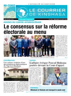 Les Dépêches de Brazzaville : Édition brazzaville du 26 août 2020