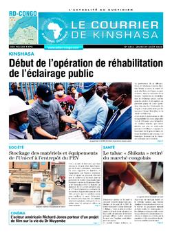 Les Dépêches de Brazzaville : Édition brazzaville du 27 août 2020