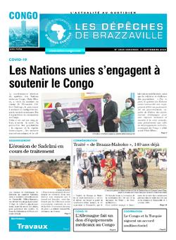Les Dépêches de Brazzaville : Édition brazzaville du 11 septembre 2020
