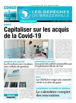 Les Dépêches de Brazzaville : Édition brazzaville du 17 septembre 2020