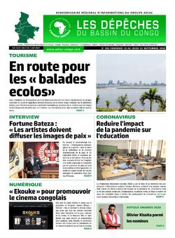Les Dépêches de Brazzaville : Édition du 6e jour du 19 septembre 2020