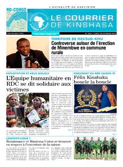 Les Dépêches de Brazzaville : Édition brazzaville du 05 octobre 2020