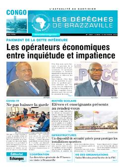 Les Dépêches de Brazzaville : Édition brazzaville du 13 octobre 2020