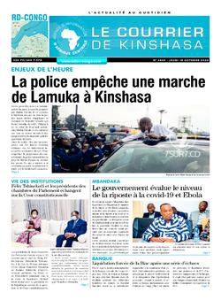 Les Dépêches de Brazzaville : Édition brazzaville du 15 octobre 2020