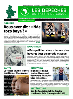 Les Dépêches de Brazzaville : Édition du 6e jour du 17 octobre 2020