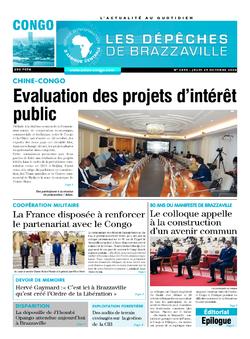 Les Dépêches de Brazzaville : Édition brazzaville du 29 octobre 2020