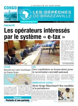 Les Dépêches de Brazzaville : Édition brazzaville du 05 novembre 2020