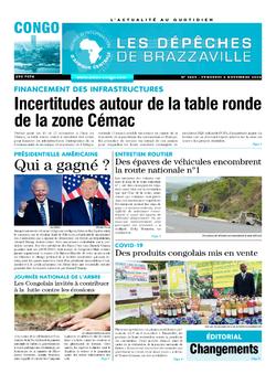 Les Dépêches de Brazzaville : Édition brazzaville du 06 novembre 2020