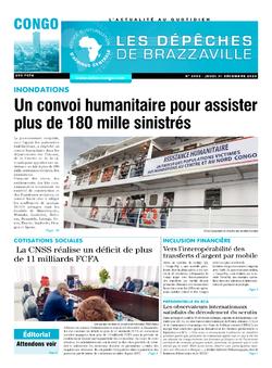 Les Dépêches de Brazzaville : Édition brazzaville du 31 décembre 2020