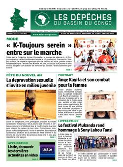 Les Dépêches de Brazzaville : Édition brazzaville du 01 janvier 2021